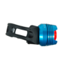 RFR Diamond Cykellygter red LED blå/sort